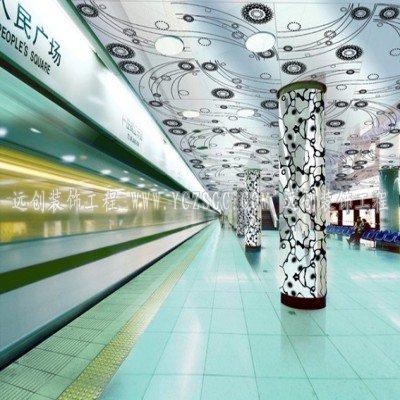可根据客户要求制作出不同规格,不同造型的地铁站不锈钢圆柱,可以跟据