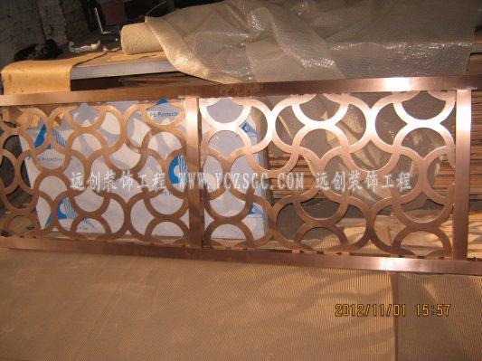 客厅玫瑰金不锈钢屏风效果图,激光雕刻不锈钢屏风,不锈钢屏风价格走势