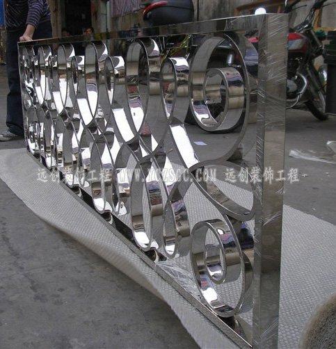 不锈钢隔断,异形不锈钢隔断,镜面不锈钢隔断