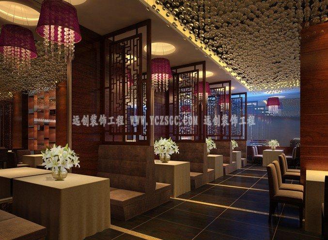 酒店餐厅不锈钢屏风